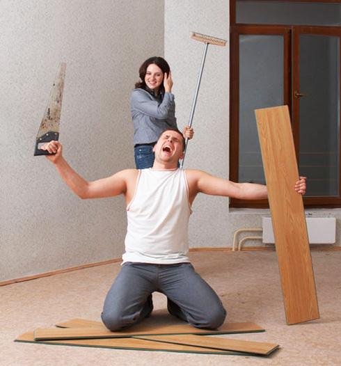 Поэтапный ремонт пола в квартире своими руками